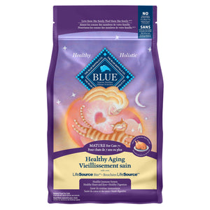Blue Buffalo Healthy Aging Mature 3.18kg Cat Food