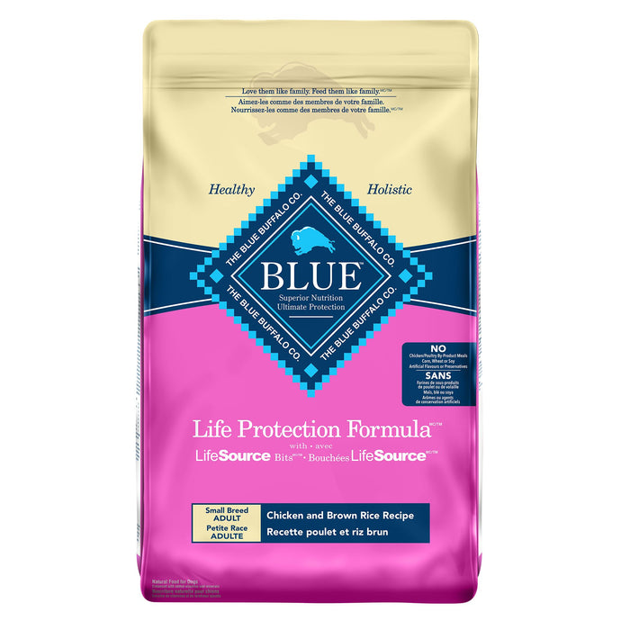 Blue Buffalo Life Protection Formula Small Breed Adult Chicken Dog Food