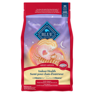 Blue Buffalo Indoor Health Adult Salmon 3.18kg Cat Food
