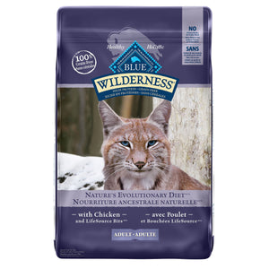 Blue Buffalo Wilderness Grain Free Adult Chicken Cat Food