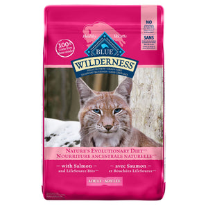 Blue Buffalo Wilderness Grain Free Adult Salmon Cat Food