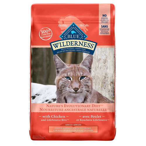 Blue Buffalo Wilderness Grain Free Indoor Weight Control Adult 4.99kg Cat Food