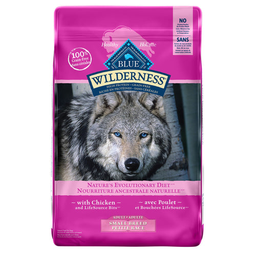 Blue Buffalo Wilderness Small Breed Adult Chicken Dog Food