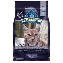 Load image into Gallery viewer, Blue Buffalo Wilderness Grain Free Mature Chicken 2.27kg Cat Food