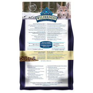 Blue Buffalo Wilderness Grain Free Mature Chicken 2.27kg Cat Food