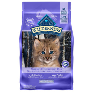Blue Buffalo Wilderness Grain Free Kitten Chicken 2.27kg Cat Food