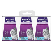 Load image into Gallery viewer, Feliway Classic Calming Diffuser Refill 48ml 3 Pack for Cats