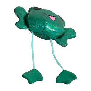 Petstages Toss N Dangle Frog Cat Toy