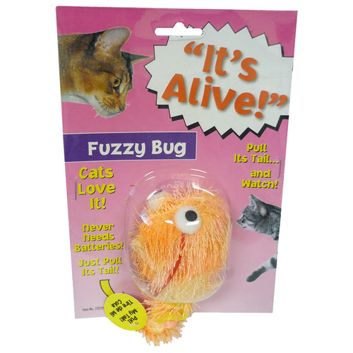 Amazing Its Alive Fuzzy Bug Cat Toy
