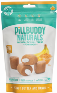 Pill Buddy Naturals Grilled Peanut Butter and Banana 150g 30 Pack