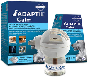 Adaptil Calming Plug-In Diffuser and Refill 30 Day Starter Kit 48ml for Dogs