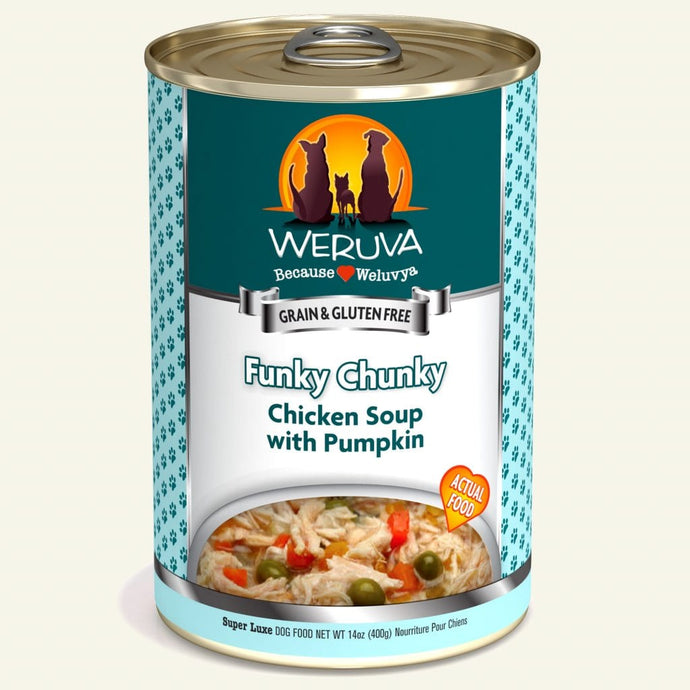 Weruva 400g Funky Chunky Dog Food