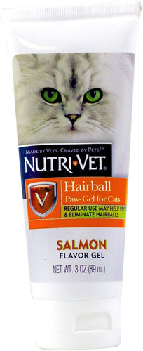 NutriVet Hairball Gel Long Hair Salmon 70g