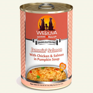 Weruva 400g Jammin Salmon Dog Food