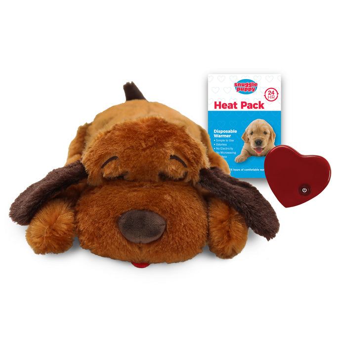 Smart Pet Love Snuggle Puppy Brown Dog Toy