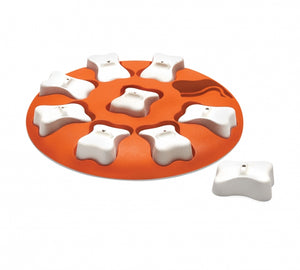 Outward Hound Nina Dog Smart Orange Dog Puzzle