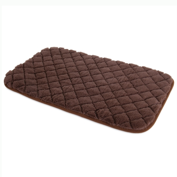 Precision SnooZZy Sleeper Mat Brown Dog Bed