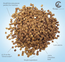 Load image into Gallery viewer, Crumps Mini Freeze Dried Beef Liver Dog Treats