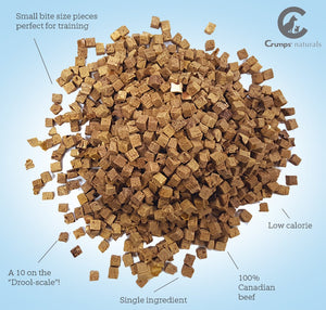 Crumps Mini Freeze Dried Beef Liver Dog Treats