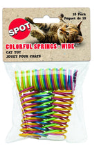 Load image into Gallery viewer, Spot Colorful Springs-Wide Cat Toy