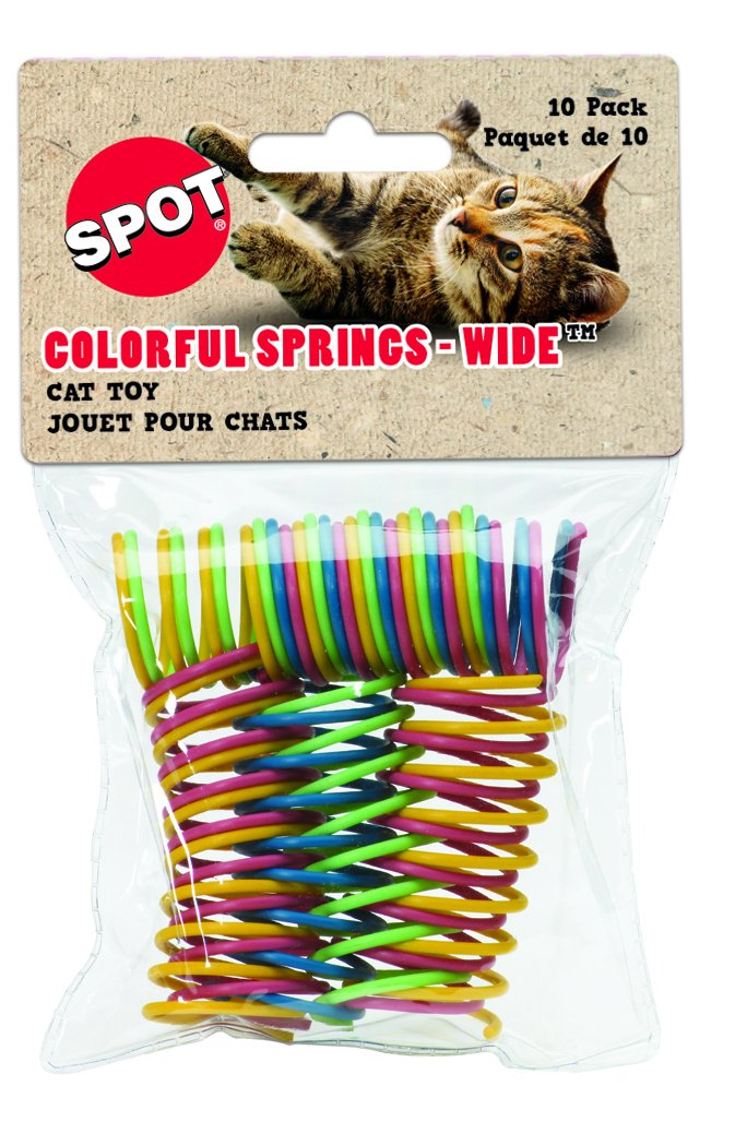 Spot Colorful Springs-Wide Cat Toy