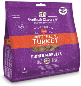 Stella & Chewys 510g Turkey Freeze Dreid Cat Food