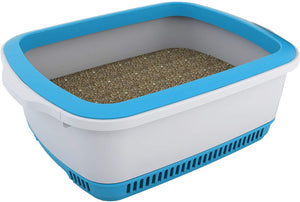 Cateco Litter Box Blue