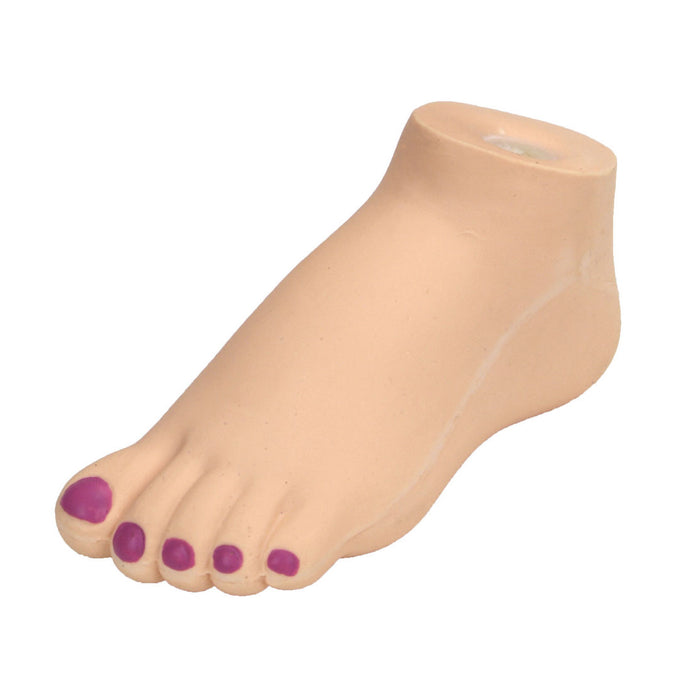 Li'l Pals Latex Foot Dog Toy