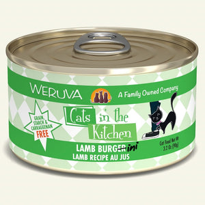 Weruva Cats In The Kitchen Lamb Burgini Cat Food