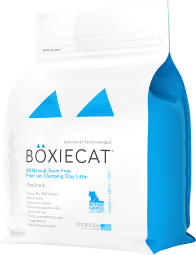 BoxieCat All Natural 12.7kg Cat Litter