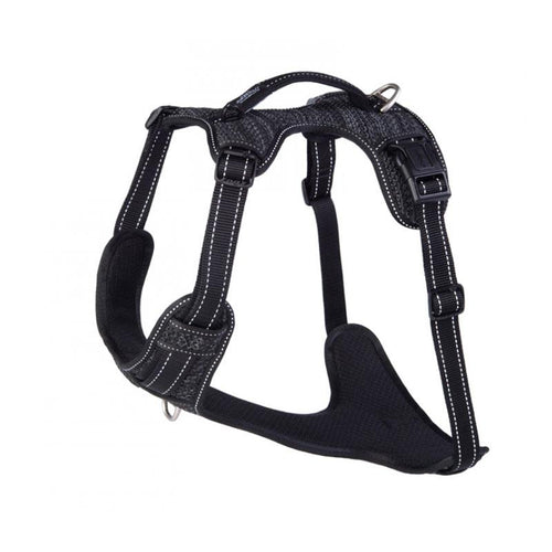 Rogz Explore Padded Dog Harness Black