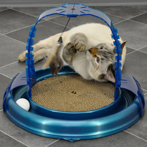Bergan Cat Toy Grooming Arch Cat Toy