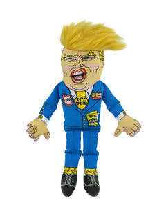 Fuzzu Donald Trump Dog Toy