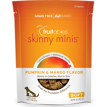 Load image into Gallery viewer, Fruitables Skinny Minis Pumpkin and Mango 141g Dog Treats