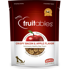 Load image into Gallery viewer, Fruitables Crunchy Bacon and Apple 198g Dog Treats