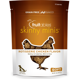 Fruitables Skinny Minis Chicken 141g Dog Treats