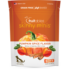 Load image into Gallery viewer, Fruitables Skinny Minis Pumpkin Spice 141g Dog Treats
