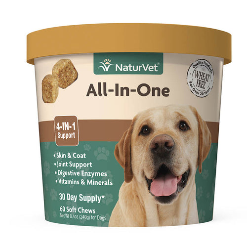 NaturVet All-In-One 240g Dog Supplement