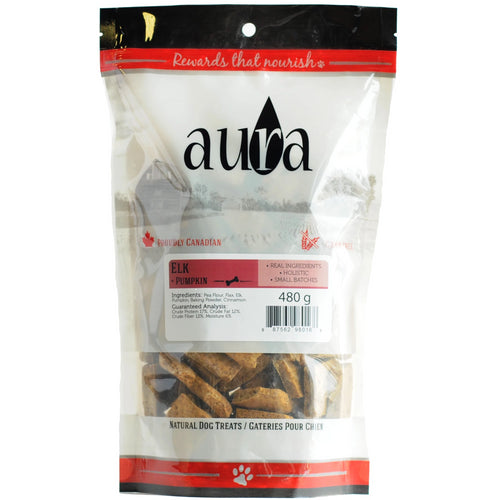 Aura Bakery Elk Wafer Dog Biscuits
