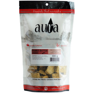 Aura Bakery Peanut Butter Regular Dog Treats