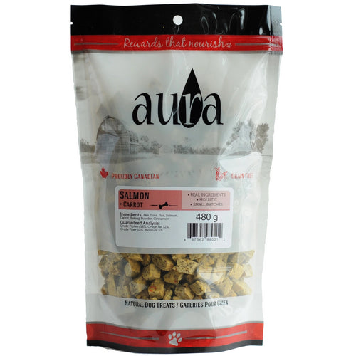 Aura Bakery Salmon Bits Dog Biscuits