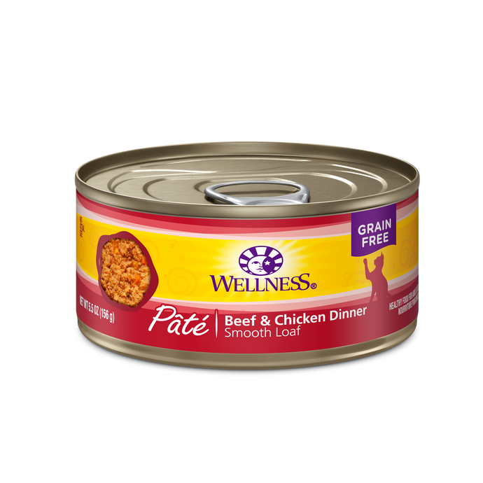Wellness Beef & Chicken Canned Cat Food