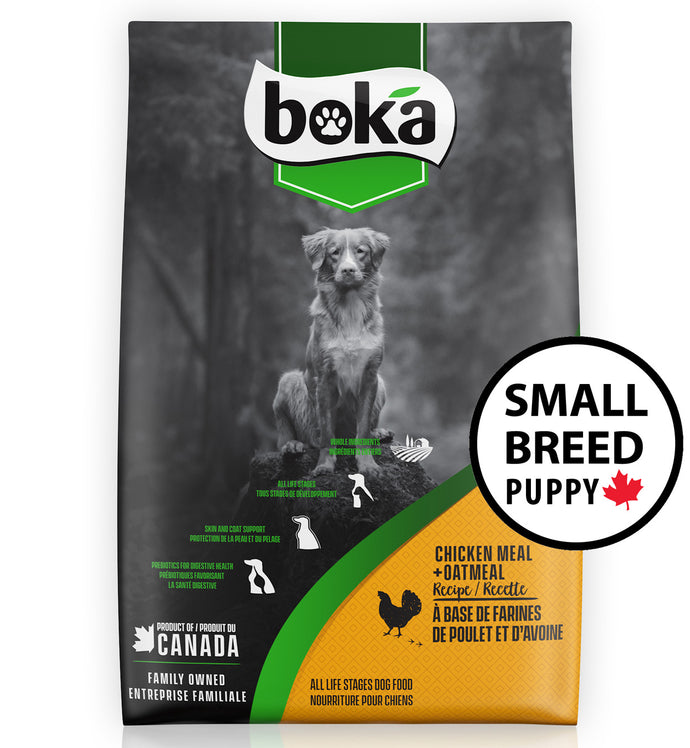 Boka Chicken Small Breed Puppy Dry Dog Food
