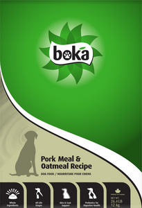 Boka Pork Dry Dog Food