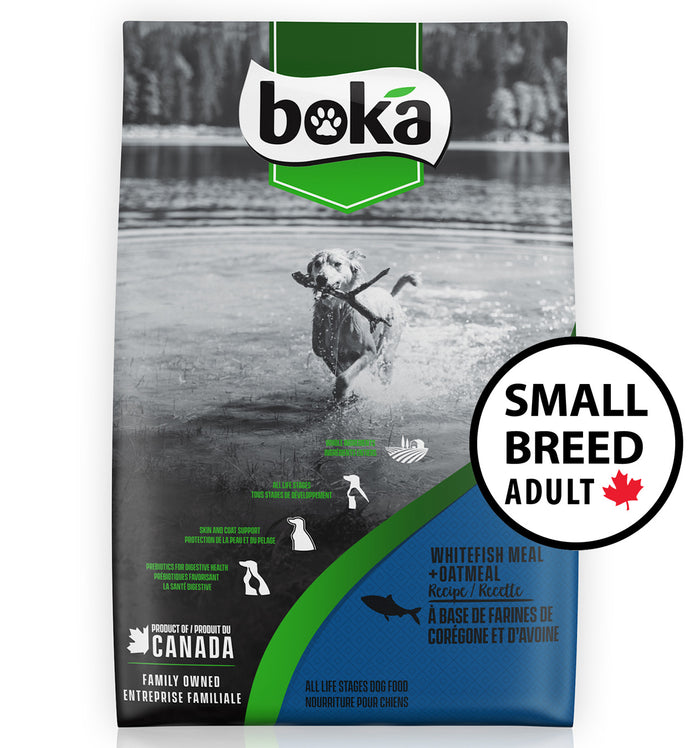 Boka Whitefish Small Breed Adult Dry Dog Food