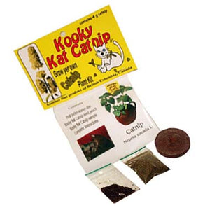 Kooky Cat Catnip Growing Kit