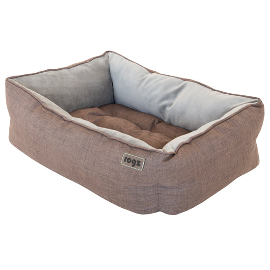 Rogz Cosmo 3D Podz Brown Dog Bed