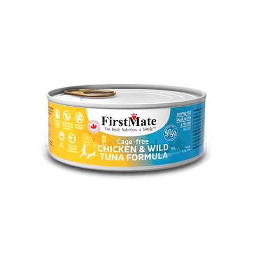 FirstMate Chicken & Tuna Canned Cat Food