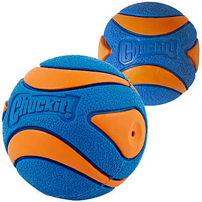 Chuckit Ultra Squeak Med 2 pack Dog Toy