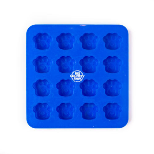 SPECIAL ORDER Big Country Raw Frozen Treat Mold - Silicone Mold- Small BLUE
